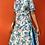 Thumbnail: 60s Floral Print Dress