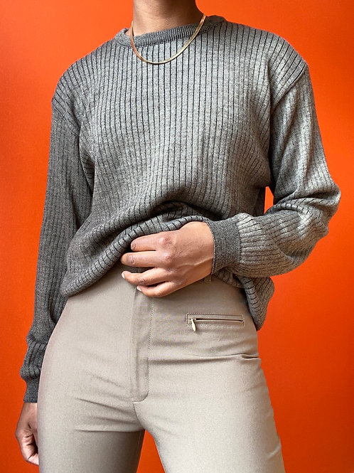 Rubber Wool Sweater