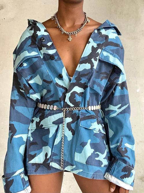 Blue Camo Jacket