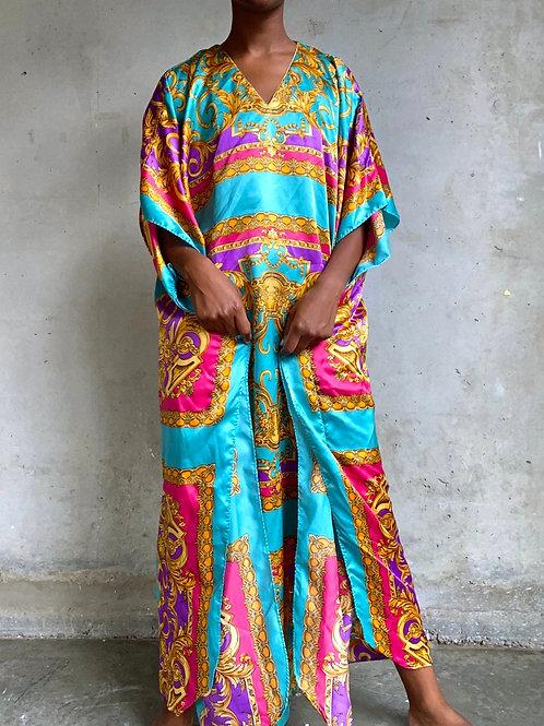 Colorful Baroque Print Muumuu