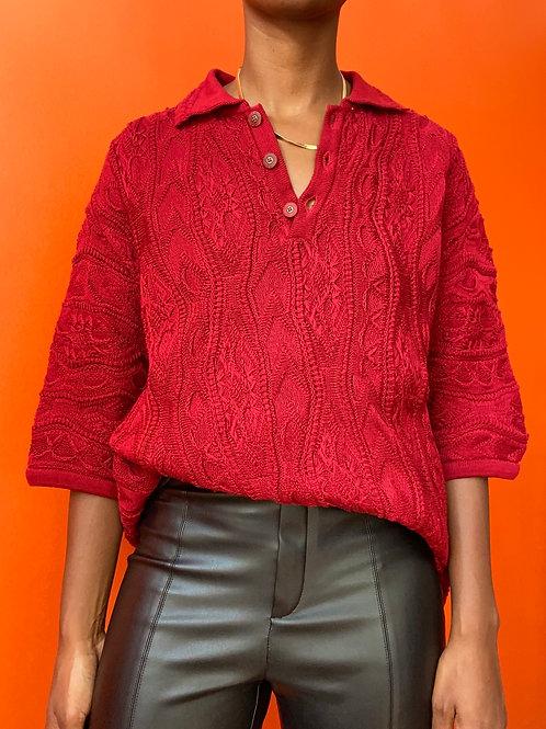 Burgundy COOGI Sweater