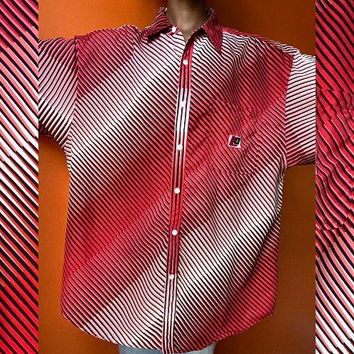 Loco Mens Striped Shirt