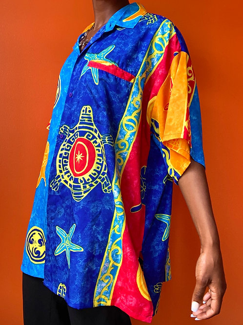Colorful Tropical Shirt