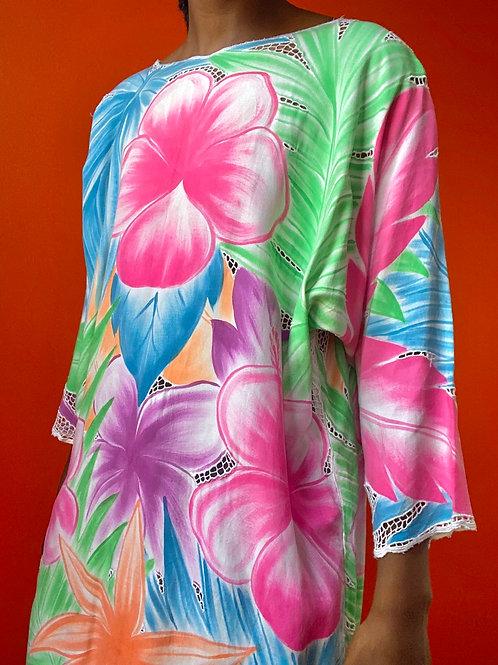 Tropical Flower Tunic