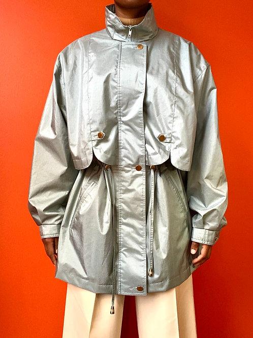 Aqua Mint Rain Coat