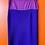 Thumbnail: Purple Wool Sweater Skirt Set w/ Autumn Haze Mink