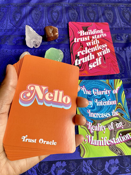 NELLO Trust Affirmantion Oracle Deck