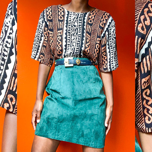 Rayon Tribal Print Top