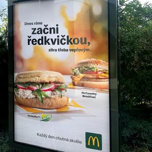 Zavádíme a u McDonaldu testujeme revoluční prezentační systém EasyDot™
