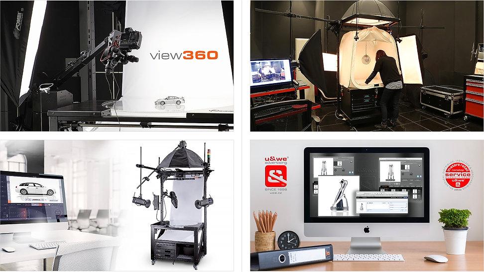 Snímání na lince 360view™ U&WE®