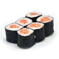Salmon Maki 6pc