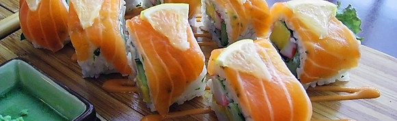 Flash  fish topping Roll