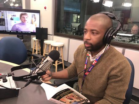 Le père en entrevue avec le réseaux anglais de Radio-Canada / CBC Radio.