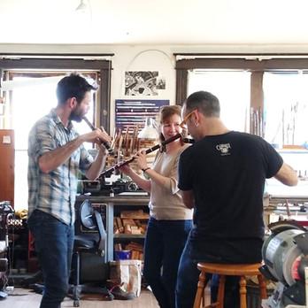 Fluteshop Tunes with Aaron, Nuala, and Matthew