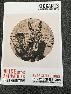 Alice exhibition Oct 2019