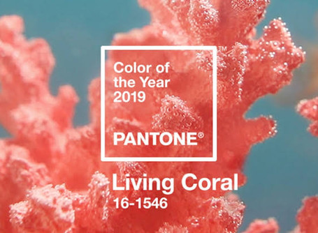 "Color del año de Pantone ""Living Coral"""