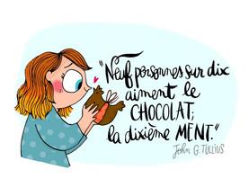 Le chocolat c'est bon pour le moral 😋🍫