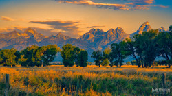 Grand Tetons Morning West-4228