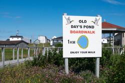 Old Day's Pond Boardwalk sign-5817