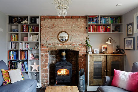 Brick-alcove-in-the-small-eclectic-livin