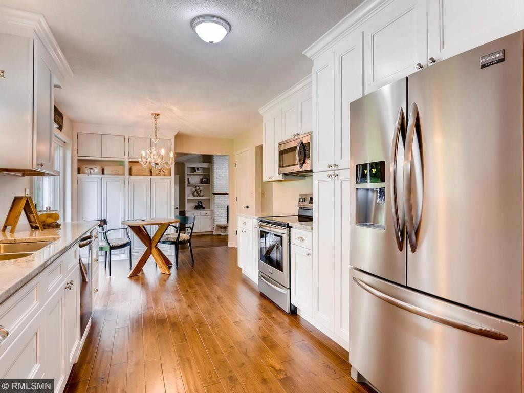 Buyers will appreciate new high end, smudje free appliances and lots of available storage