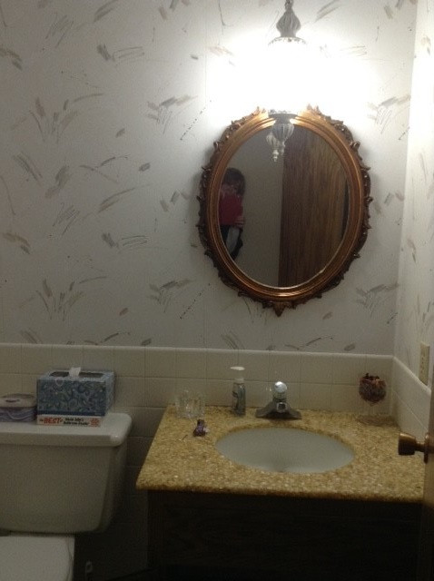 1/2 Bathroom Before