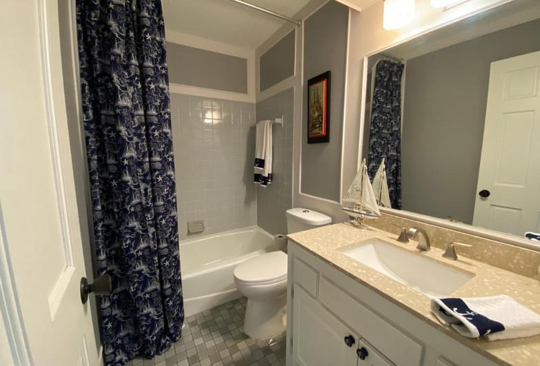 RE-DESIGNED BATHROOM