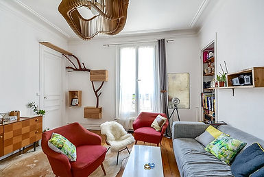 Living-room-of-tiny-Paris-apartment-with