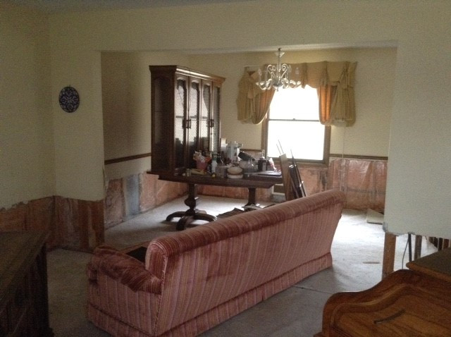 Dining Room When We First Met