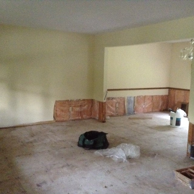 Living/Dining Room Before