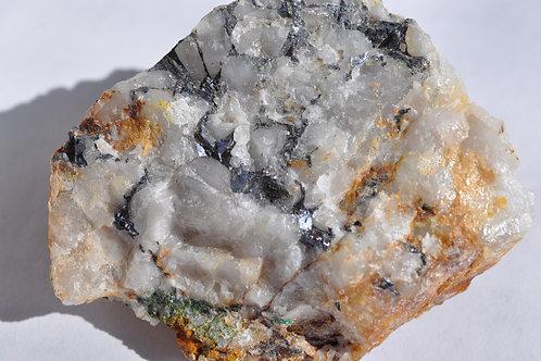 Галенит в кварце 4554-С1