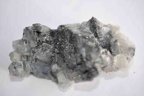 Турмалин в кварце, хлорит 4867-С6