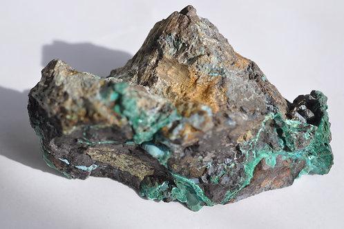 Малахит, хризоколла, Меднорудянское 2125-ПШ