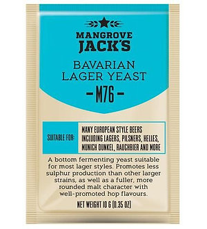 Дрожжи Bavarian Lager M76, Mangrove Jack`s