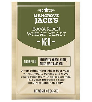 Дрожжи Mangrove Jack`s M20, Bavarian Wheat