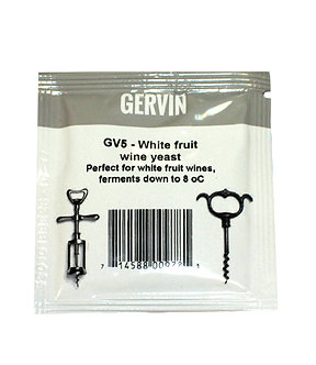 "Дрожжи White Fruit Wine ""Gervin GV5"""
