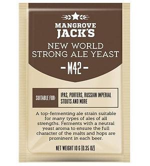 Дрожжи Mangrove Jack`s M42, New World Strong Ale, Craft Series Yeast