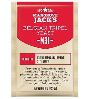 Дрожжи Mangrove Jack's Belgian Tripel M31