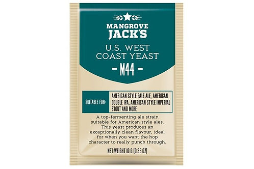 Дрожжи Mangrove Jack`s M44, US West Coast