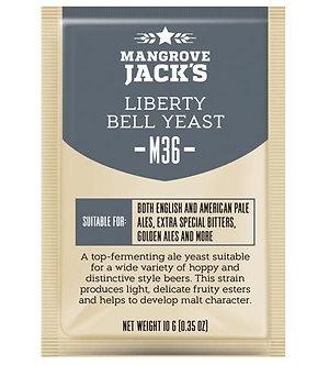 Дрожжи Mangrove Jack`s M36, Liberty Bell Ale, Craft Series Yeast