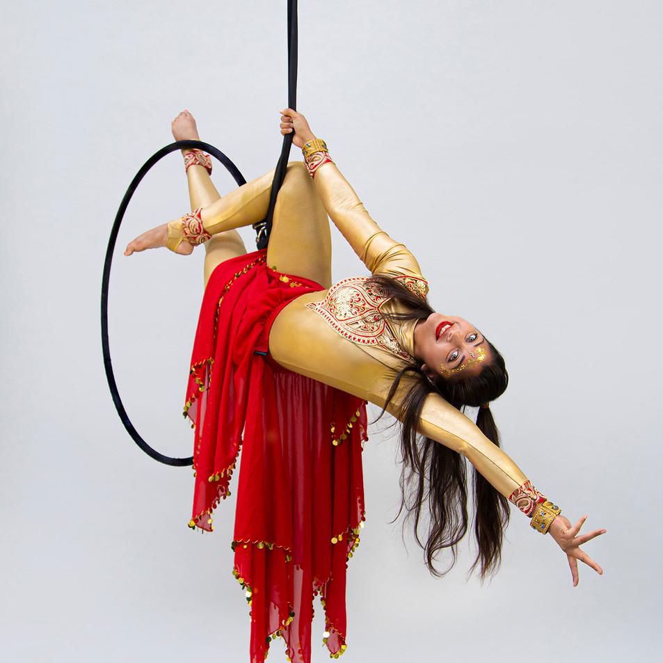Flying Bollywood Hoop