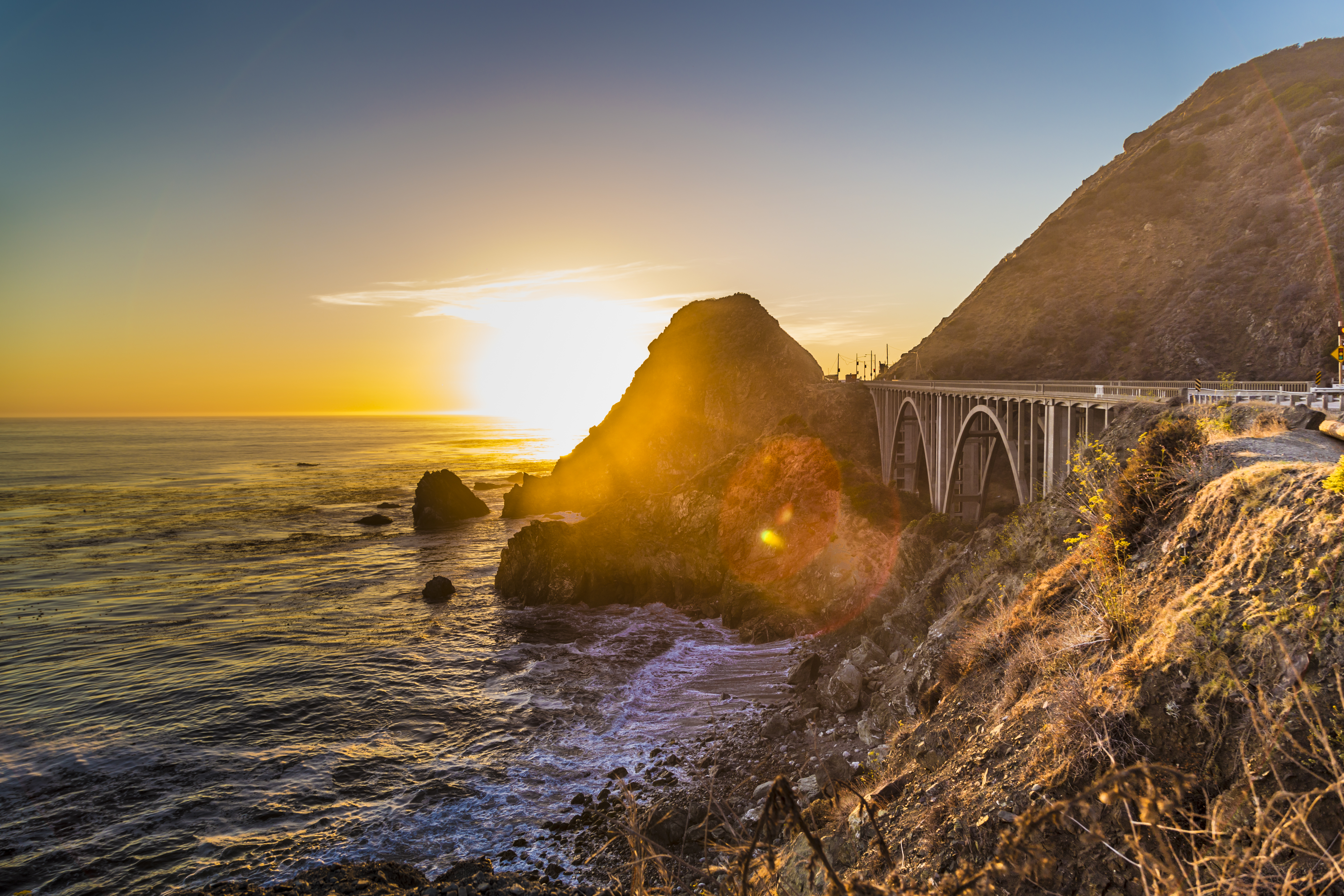 Arches Along The Coast