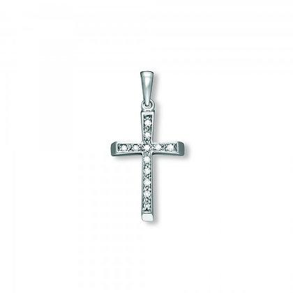 Anhänger Kreuz Zirkonia AHZ00028.4
