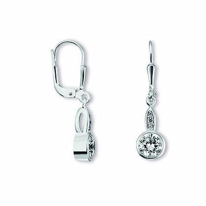Ohrhänger Zirkonia Silber 925/-