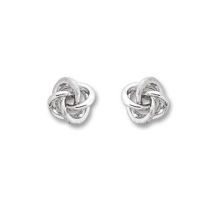 Ohrstecker Knoten Silber 925/-