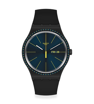 Swatch BLACK RAILS SUOB731