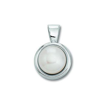 Anhänger Süßwasser-Zuchtperle Silber 925/-