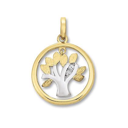 Anhänger Lebensbaum Zirkonia AHZ00064.101