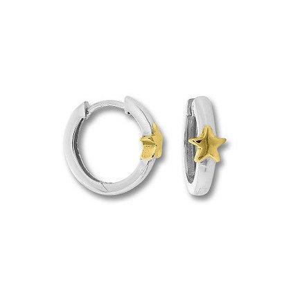 Creole Stern Silber 925/-
