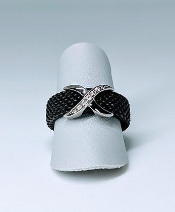 Cédé Creation Milanaise Ring mit Brillanten